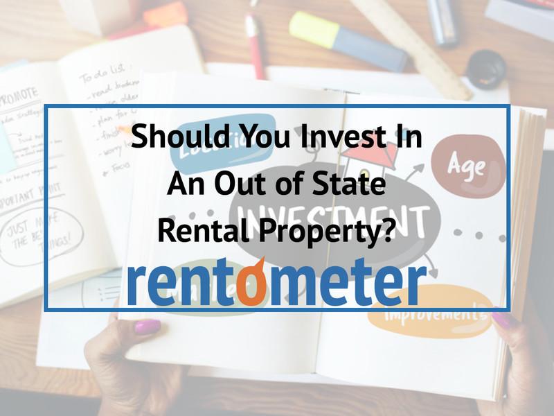 Devriez-vous investir dans une propriété locative hors État?