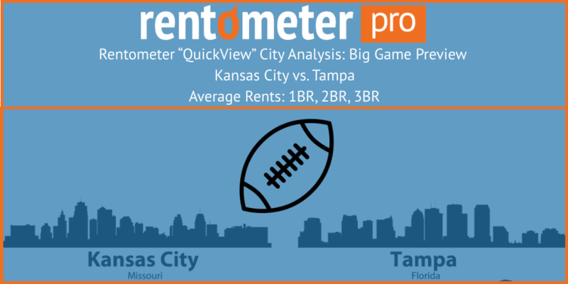 rents in kansas city and tampa bay
